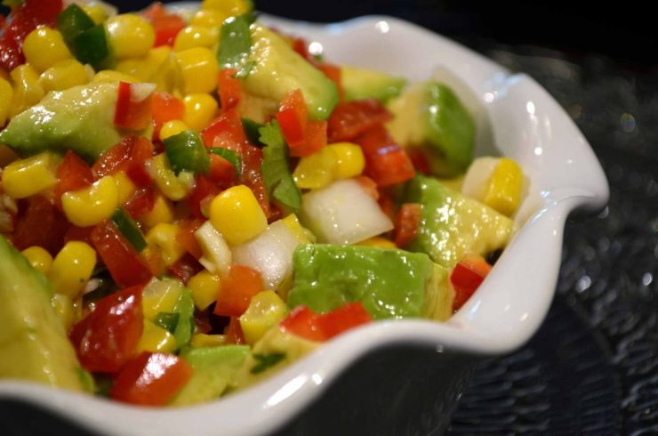 Avocado Corn Salad Recipe-Confident in the Kitchen-Jean Miller