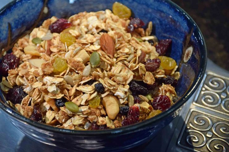 Toasted Muesli Recipe-Confident in the Kitchen-Jean Miller