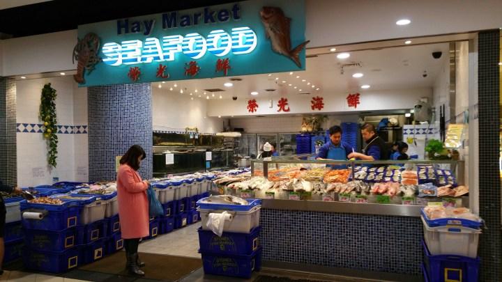 Sydney Australia Paddy's Market Seafood