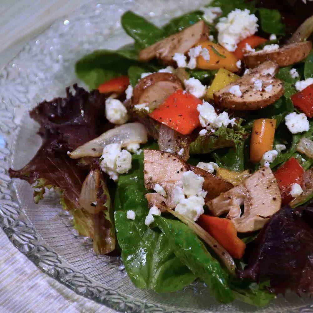 Baby Spinach Feta Salad Recipe