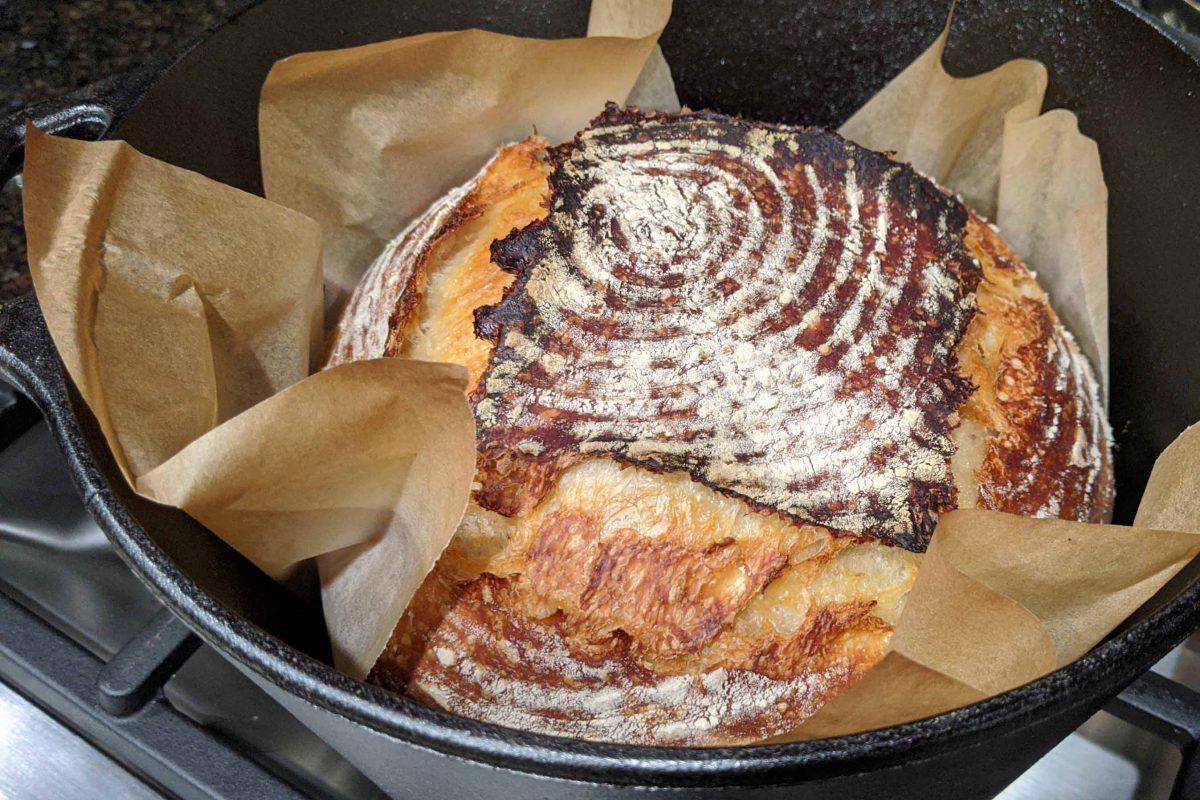 Saturday Sourdough Bread Recipe