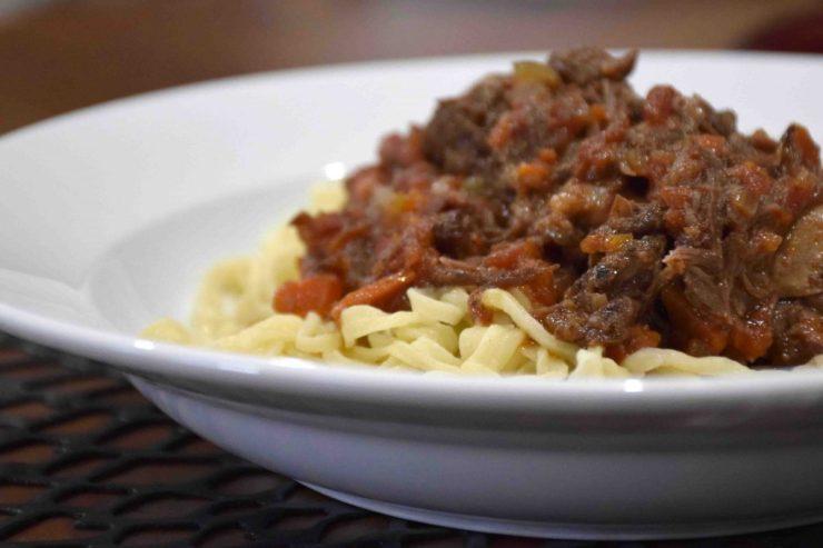 Sugo con Costolette di Manzo Recipe-Short Ribs-Confident in the Kitchen-Jean Miller
