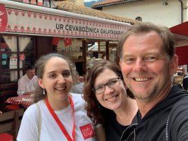 Sarajevo Food Tour with Džana-Author Jean Miller