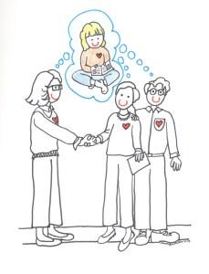 Parent Teacher Conferences Illustration by Jennifer Miller