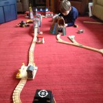 E with trains