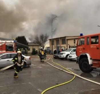 explosión gas Austria