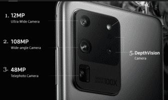 Samsung S20 Ultra Camera Specs confirmbiz