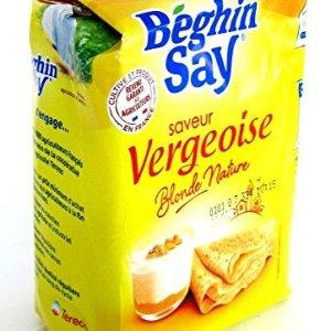 VERGEOISE BLONDE  -Sucre saveur Vergeoise – 500 g