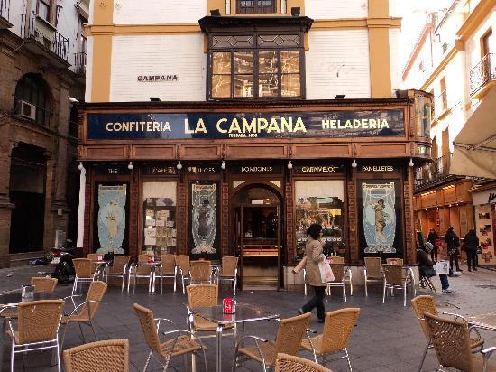 Confitería La Campana en España Directo.