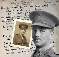 Essay draft on Wilfred Owen poetry