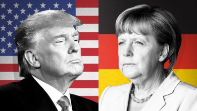 Photo of Estaria o presidente dos EUA, Donald Trump, querendo derrubar a Chanceler da Alemanha, Angela Merkel?