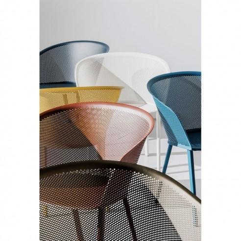 chaise de jardin avec accoudoirs stampa kettal