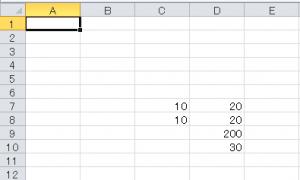 VBAでFormulaプロパティでセルの計算式を取得する