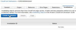 AWS CloudFrontのInvalidationでS3のコンテンツキャッシュを削除する