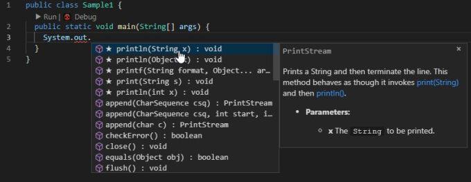 Visual Studio IntelliCodeがJavaに対応したようです