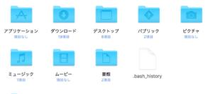MacのFinderで隠しファイルを表示する方法