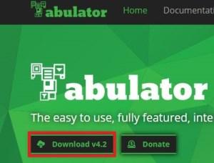 Tabulatorの使い方とサーバにアップしたら簡単にWebアプリが作成できる