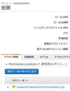 AWS SAM CloudFormationでAPI GatewayのIAMロールをデプロイする方法