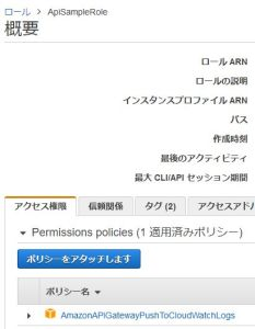 AWS SAM CloudFormationでAPI GatewayのIAMロールをデプロイする方法
