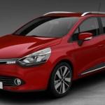 Renault clio sporter rossa