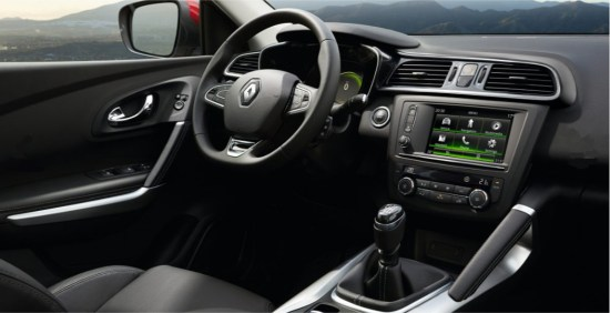 nuova Renault Kadjar interni