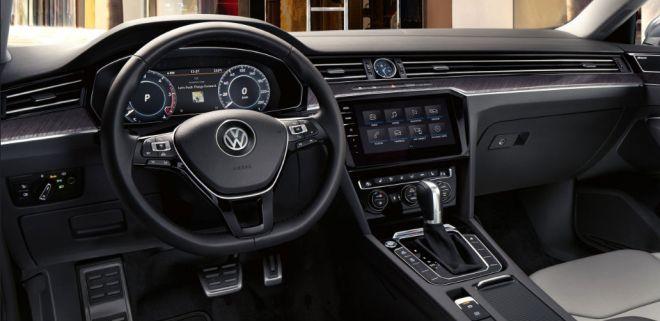 nuova volkswagen arteon interni