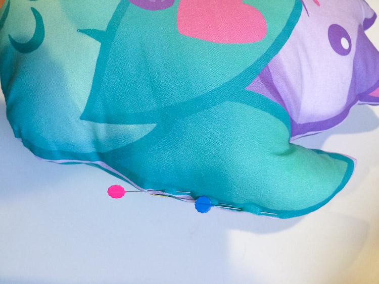 Cat Mermaid Pillow