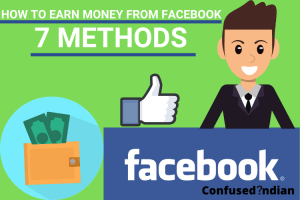 How To Earn Money From Facebook| 7 Ways