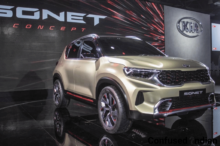 Kia Sonet: New Compact SUV Unveiled By Kia Motors