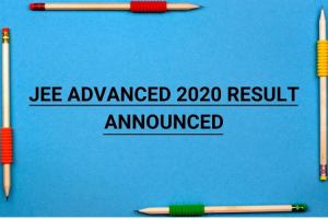 JEE Advanced 2020 Result | Steps To Check Result