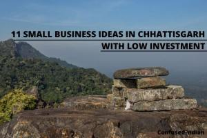 11 Small Business Ideas In Chhattisgarh With Low Investment In 2021