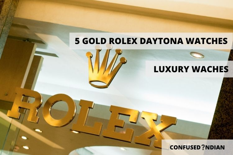 5 Breathtaking Gold Rolex Daytona Watches for Men
