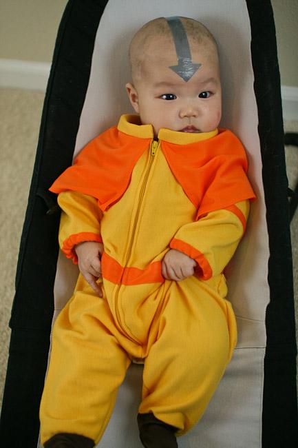 Baby airbender