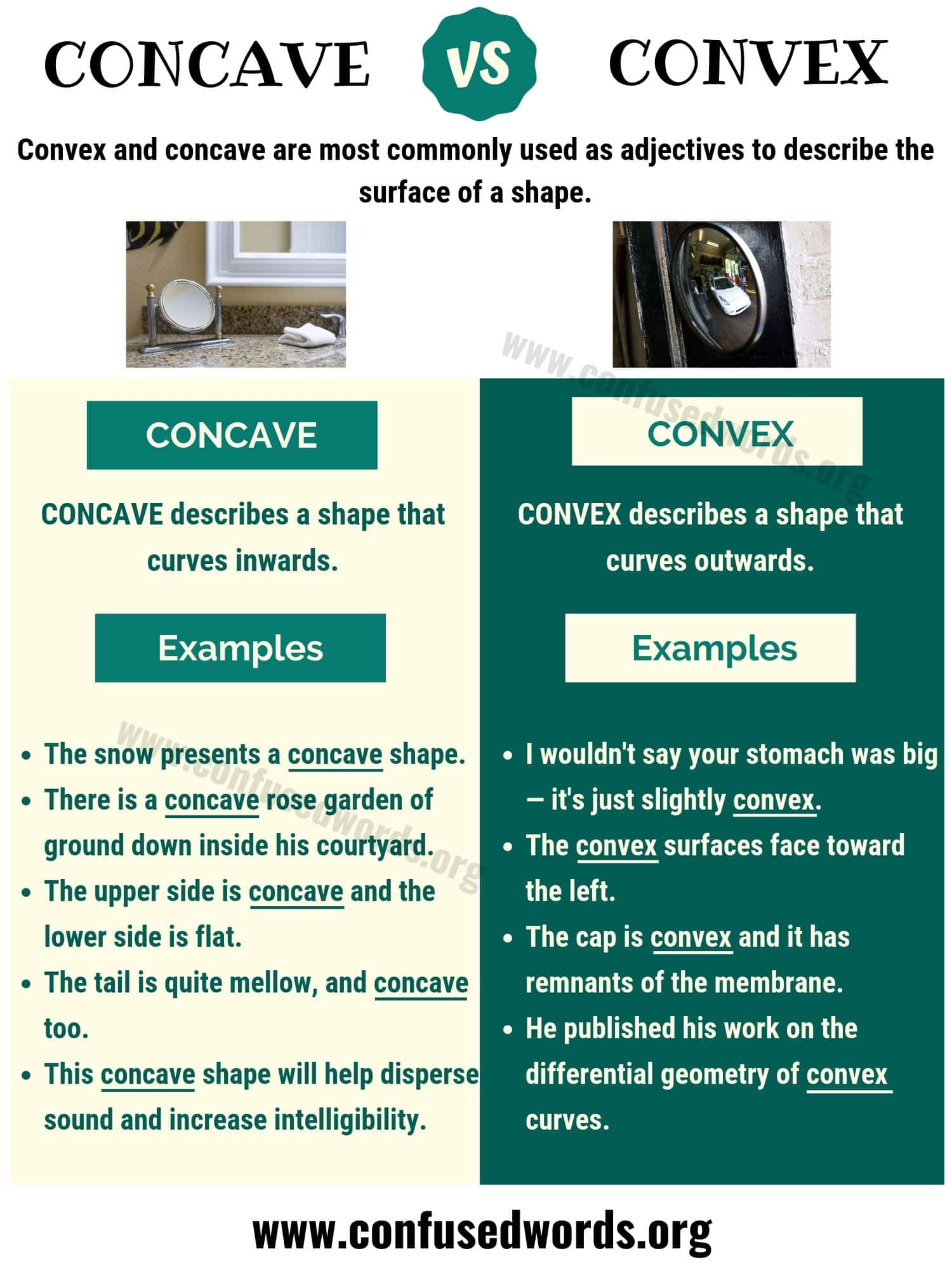 Concave Vs Convex How To Use Convex Vs Concave Correctly