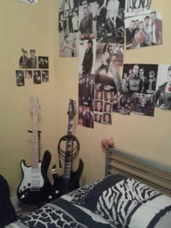 In my old bedroom :(