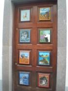 The cutest door!