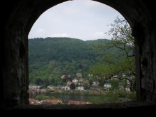 I'm sure I took almost the exact time photo the first time I went to Heidelberg...