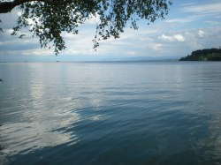 View of Lake Constance from the island