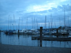 The harbour in the evening