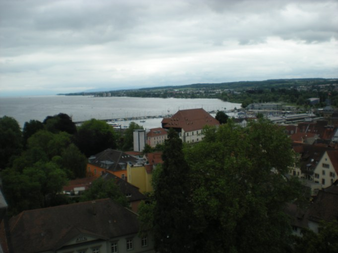 Konstanz and part of the lake