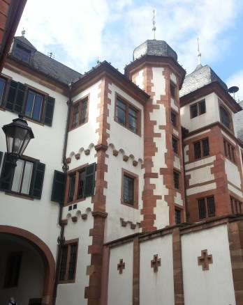 Part of the Rathaus (town hall). I requested this photo.