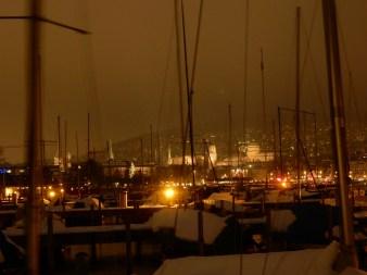 Zürisee by night