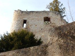 First glimpse of Schloss Birseck