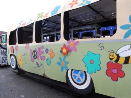 Hippie bus!