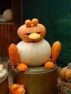 Pumpkin frog
