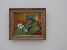 August Macke, Walterchens Spielsachen [Little Walter's Toys]