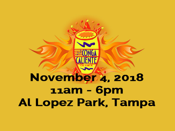 15th Annual Conga Caliente Returns November 4th 2018!