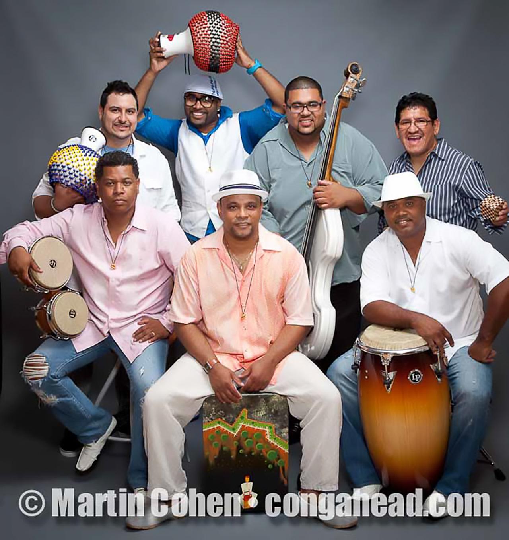 Chino Bolaños' Kambalache Negro.  Afro Peruvian music