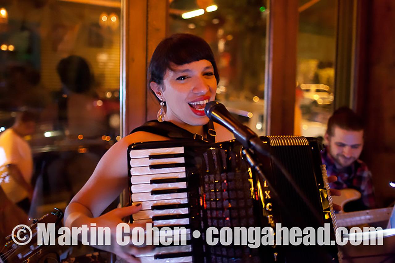 Banda Magda at Esperanto, NYC.  August 18, 2011