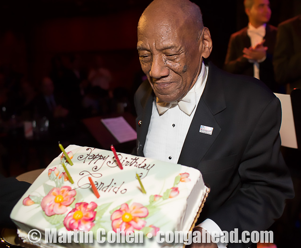 Candido Camero's 91st Birthday Celebration.  Dizzy's Club Coca Cola, NYC